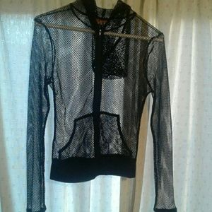 Jackets & Blazers - Fish net jacket size S/M